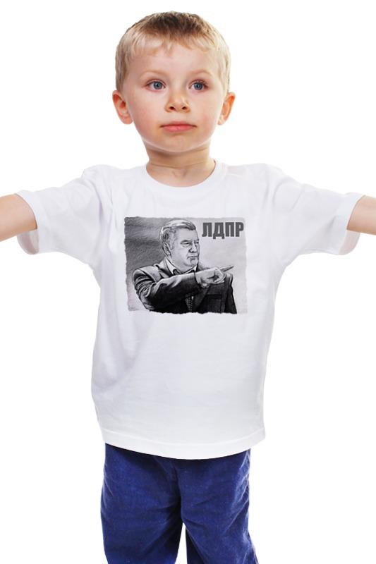 Детская футболка классическая унисекс Printio Жириновский