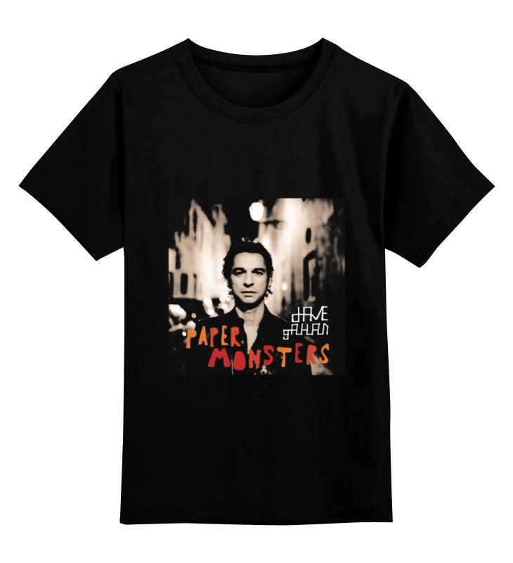 Детская футболка классическая унисекс Printio Dave gahan сумка printio dave gahan on tour 3