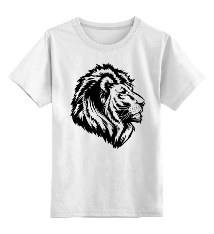 Детская футболка классическая унисекс Printio Proud lion guano apes guano apes proud like a god 180 gr colour