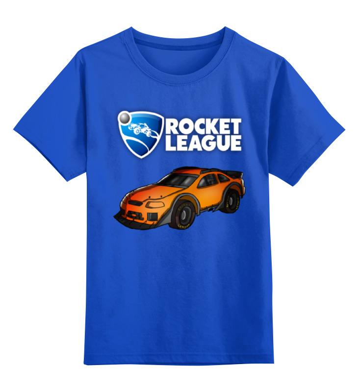 Детская футболка классическая унисекс Printio Rocket league