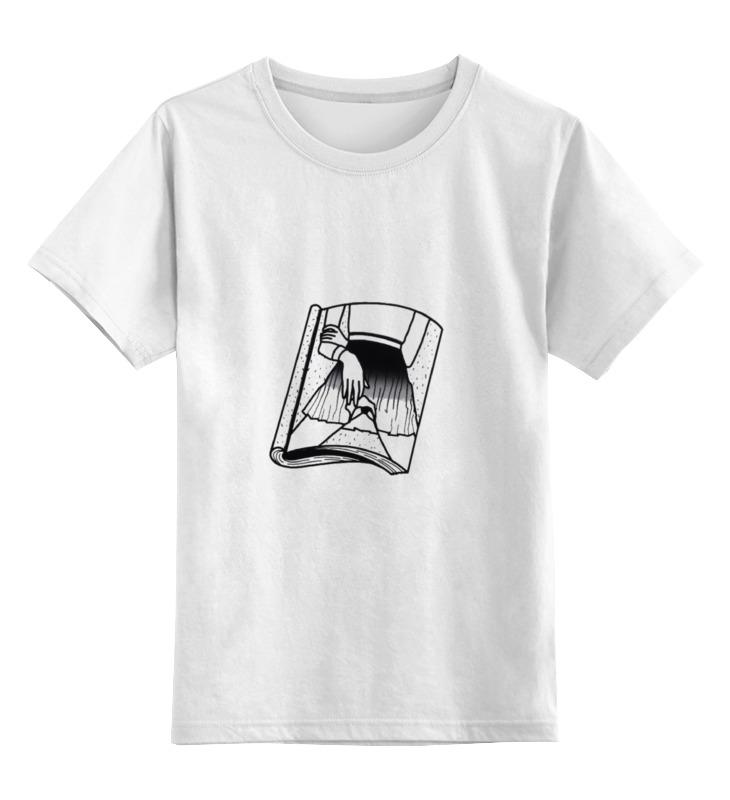 Детская футболка классическая унисекс Printio Страница журнала цена