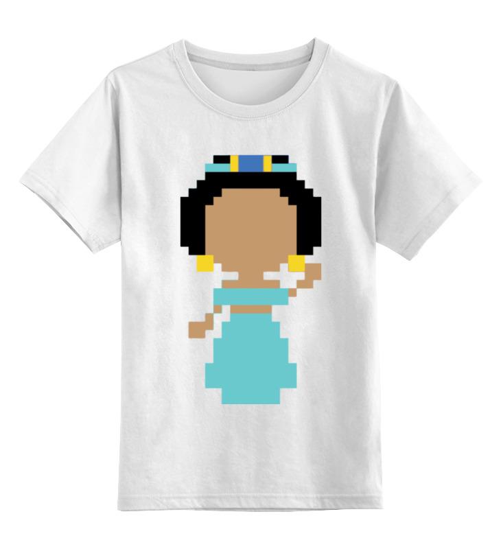 Детская футболка классическая унисекс Printio Принцесса жасмин детская футболка классическая унисекс printio аладдин