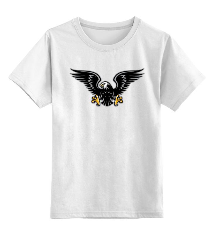 Детская футболка классическая унисекс Printio Орёл
