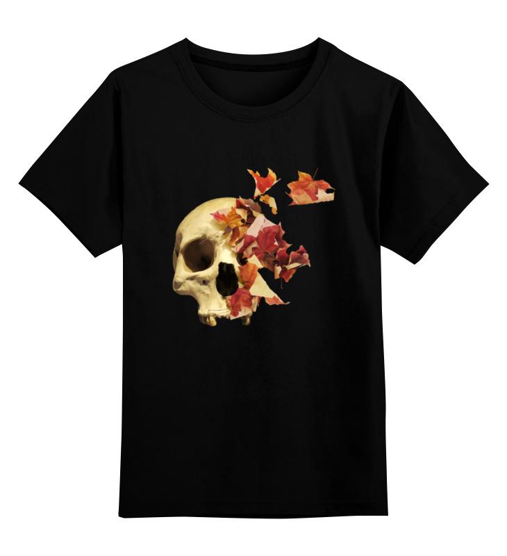 Детская футболка классическая унисекс Printio Осенний череп детская футболка классическая унисекс printio бегемот