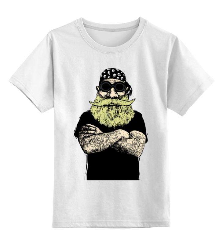 Детская футболка классическая унисекс Printio Прожженный байкер детская футболка классическая унисекс printio spitfire