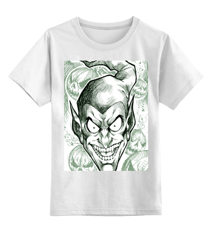 Детская футболка классическая унисекс Printio Зеленый гоблин детская футболка классическая унисекс printio мотобайк