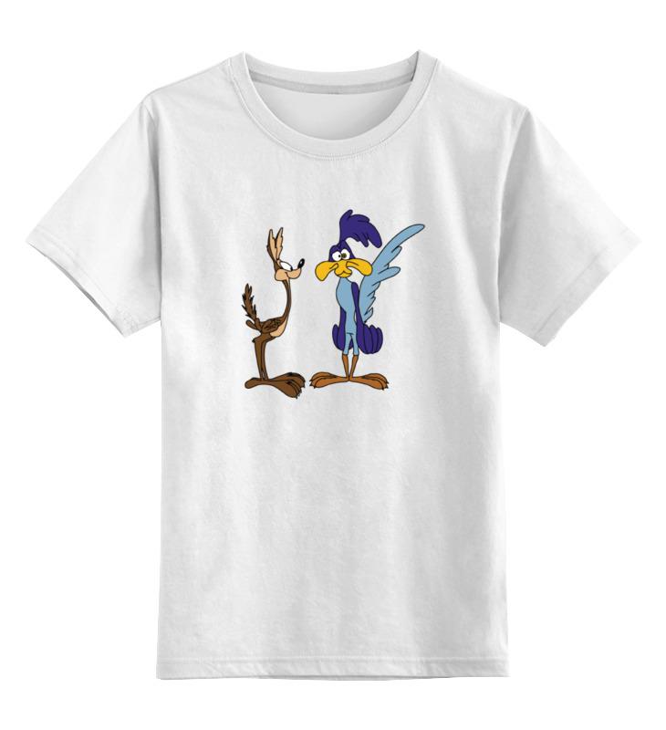 Детская футболка классическая унисекс Printio Койот