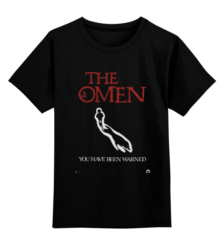 Детская футболка классическая унисекс Printio The omen 666 детская футболка классическая унисекс printio the undertaker