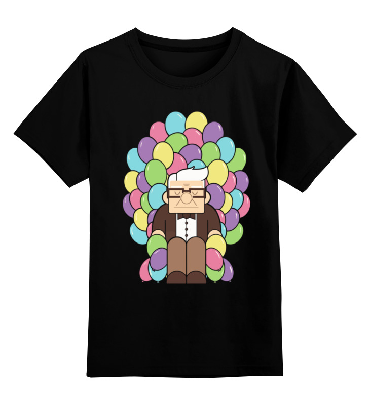 Детская футболка классическая унисекс Printio Вверх (up) кружка printio вверх