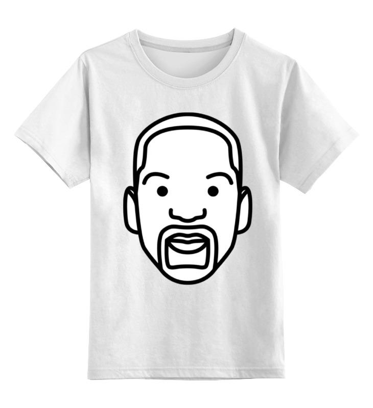 Детская футболка классическая унисекс Printio Уилл смит