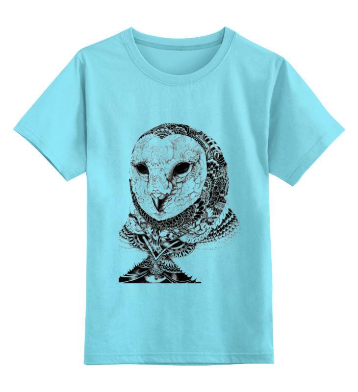 Детская футболка классическая унисекс Printio Сова-2 футболка классическая printio 62 2% в саратове