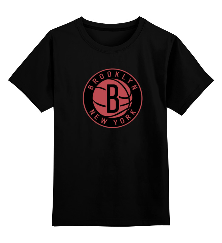 Детская футболка классическая унисекс Printio Brooklyn nets