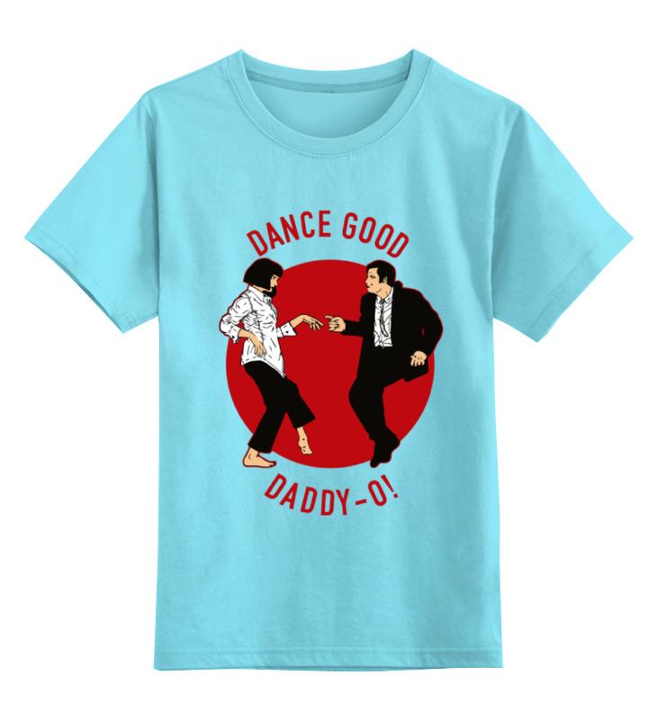 Детская футболка классическая унисекс Printio Dance good (pulp fiction) футболка классическая printio sonic dance