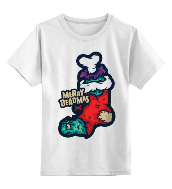 Детская футболка классическая унисекс Printio Merry deadmas футболка классическая printio merry x mas