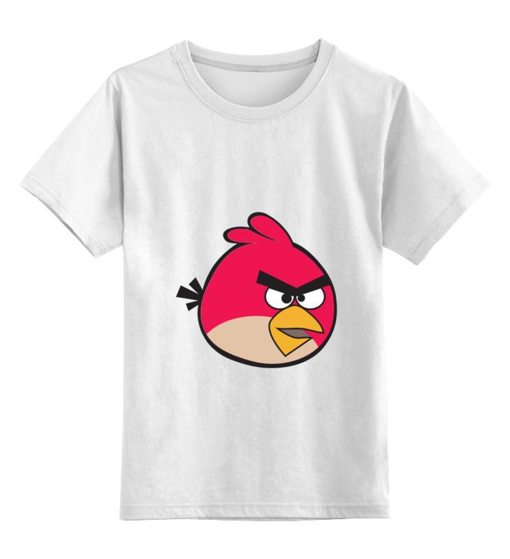 Детская футболка классическая унисекс Printio Angry birbs