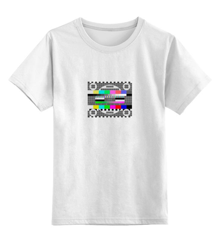 Детская футболка классическая унисекс Printio Настроечная таблица