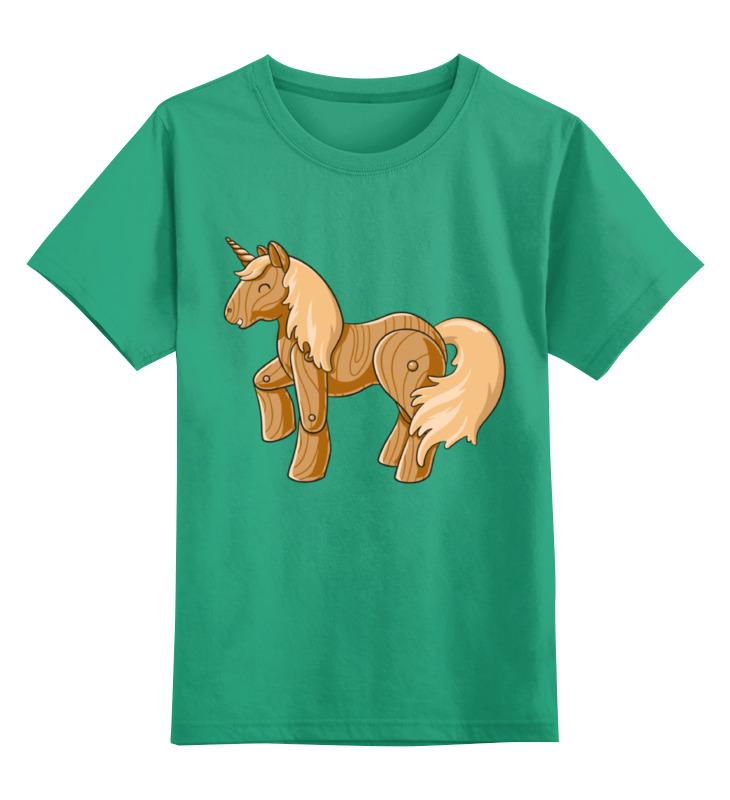 Детская футболка классическая унисекс Printio Единорог