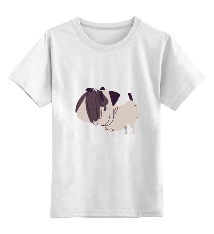 Детская футболка классическая унисекс Printio Забавный мопс детская футболка классическая унисекс printio мачете