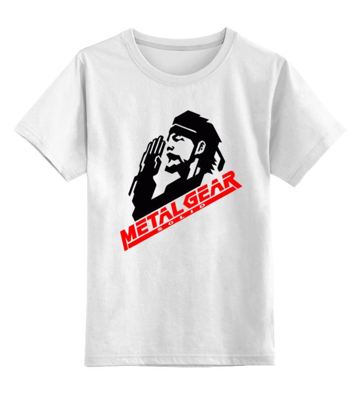 Детская футболка классическая унисекс Printio Metal gear solid