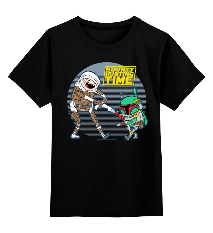 Детская футболка классическая унисекс Printio Bounty hunting time кальций nature s bounty 10 300