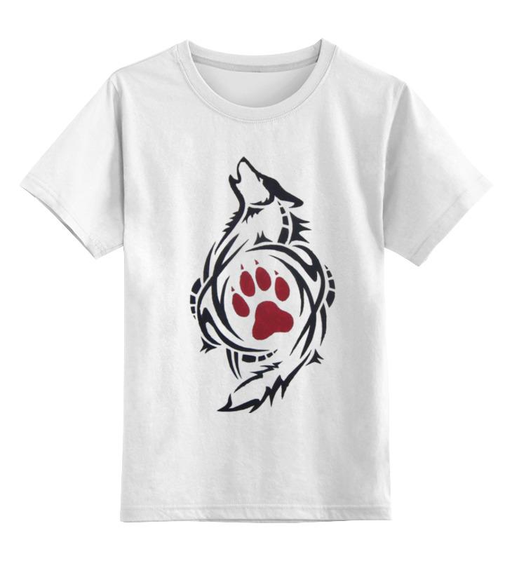 Детская футболка классическая унисекс Printio Волк арт детская футболка классическая унисекс printio воющий волк