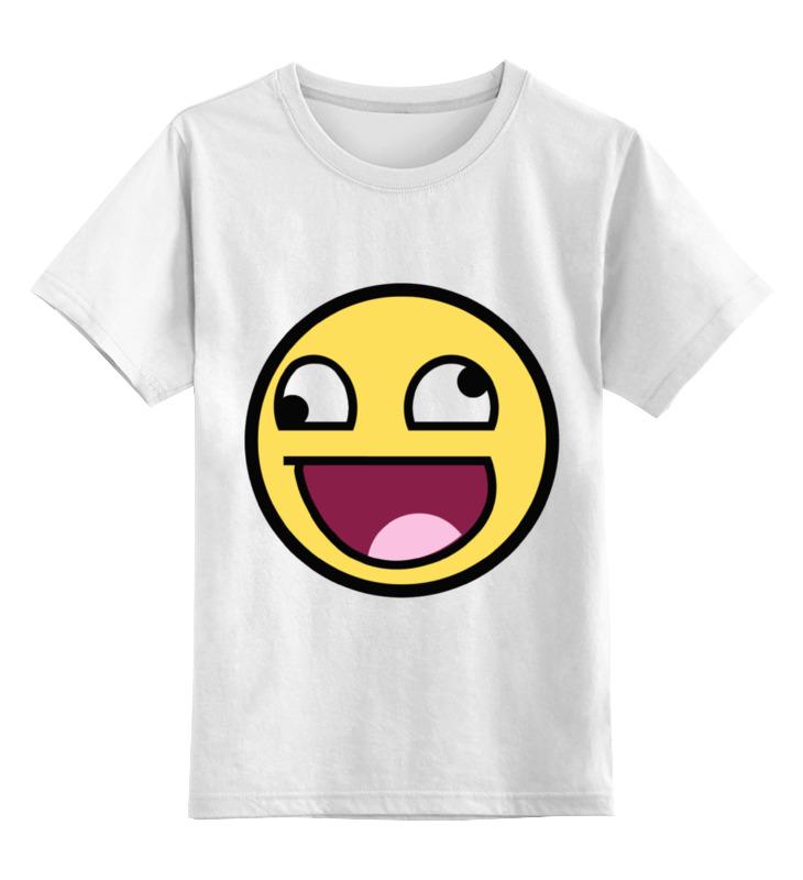 Детская футболка классическая унисекс Printio Awesome smile футболка классическая printio awesome smile