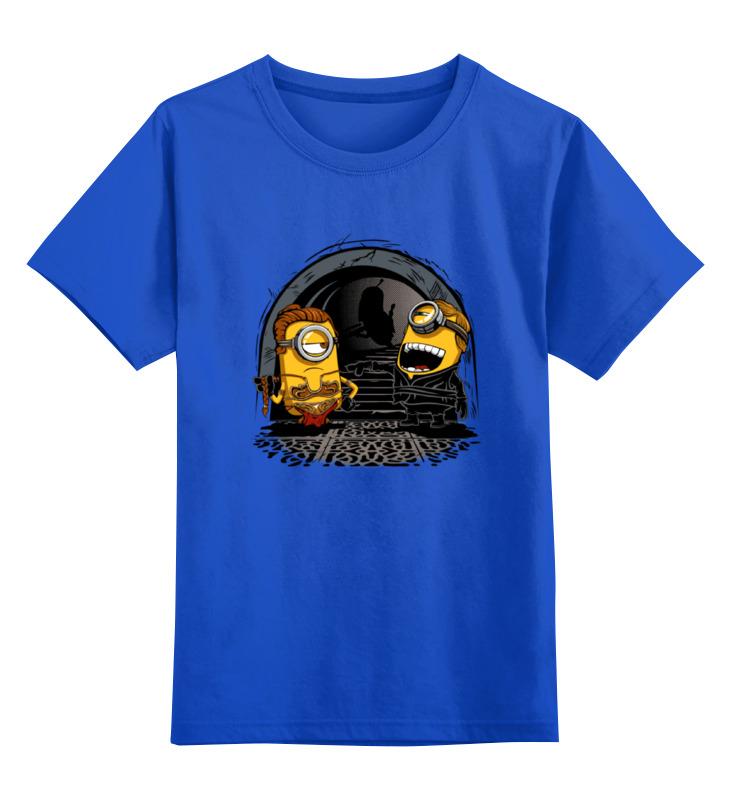 Детская футболка классическая унисекс Printio Миньоны - лея и люк детская футболка классическая унисекс printio миньоны