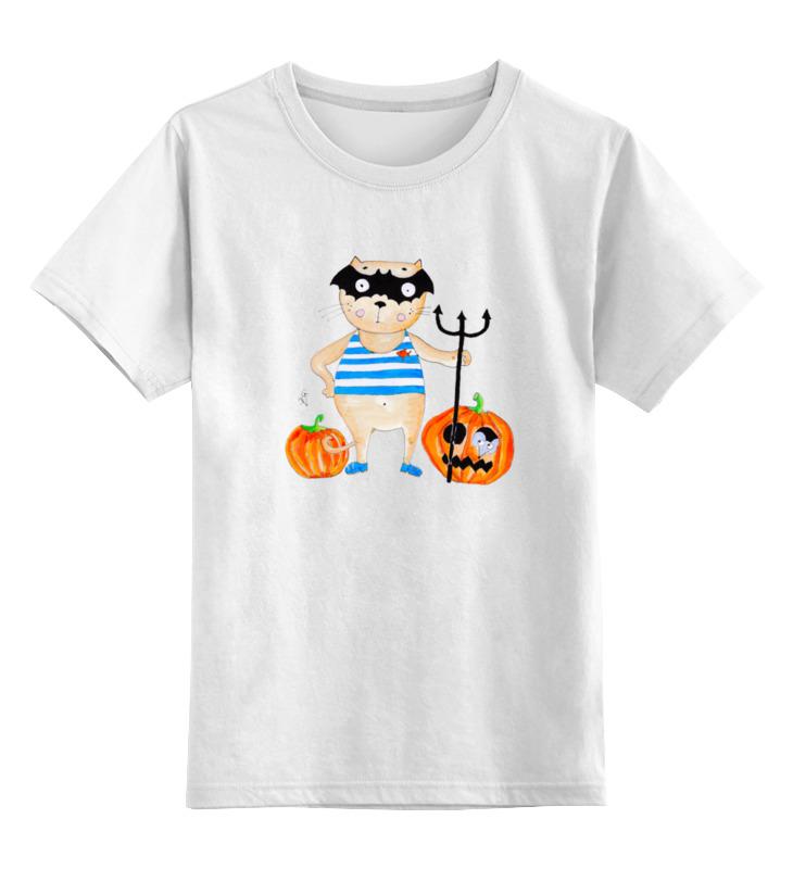 Детская футболка классическая унисекс Printio Совсем не страшно