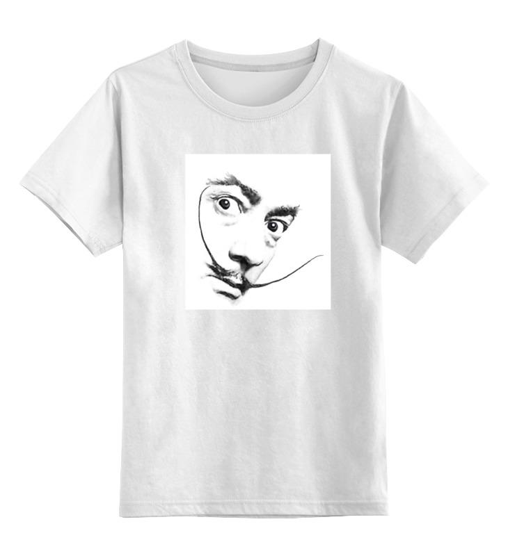Детская футболка классическая унисекс Printio Дали дали сальвадор дневник одного гения