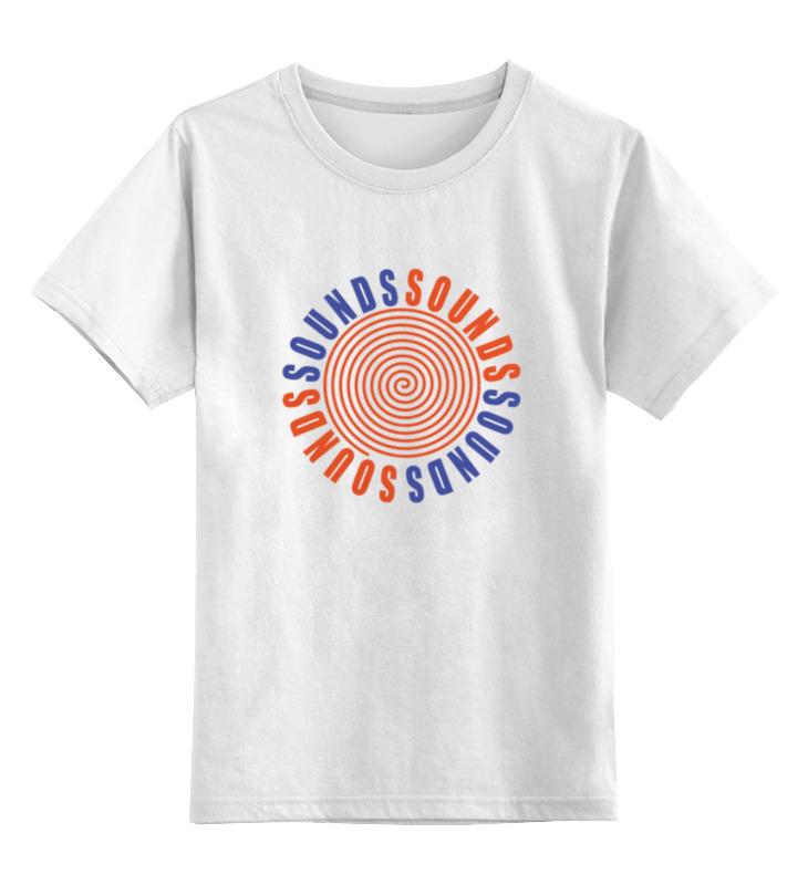 Детская футболка классическая унисекс Printio Kurt cobain sounds футболка классическая printio kurt cobain