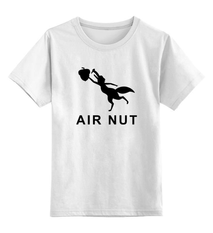 Детская футболка классическая унисекс Printio Белка и орех (ледниковый период) ледниковый период 3 солнце и лед