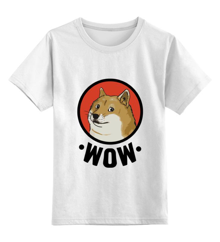 Детская футболка классическая унисекс Printio Лайка wow футболка print bar wow