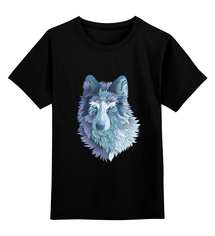 Детская футболка классическая унисекс Printio Beautiful wolf детская футболка классическая унисекс printio lone wolf