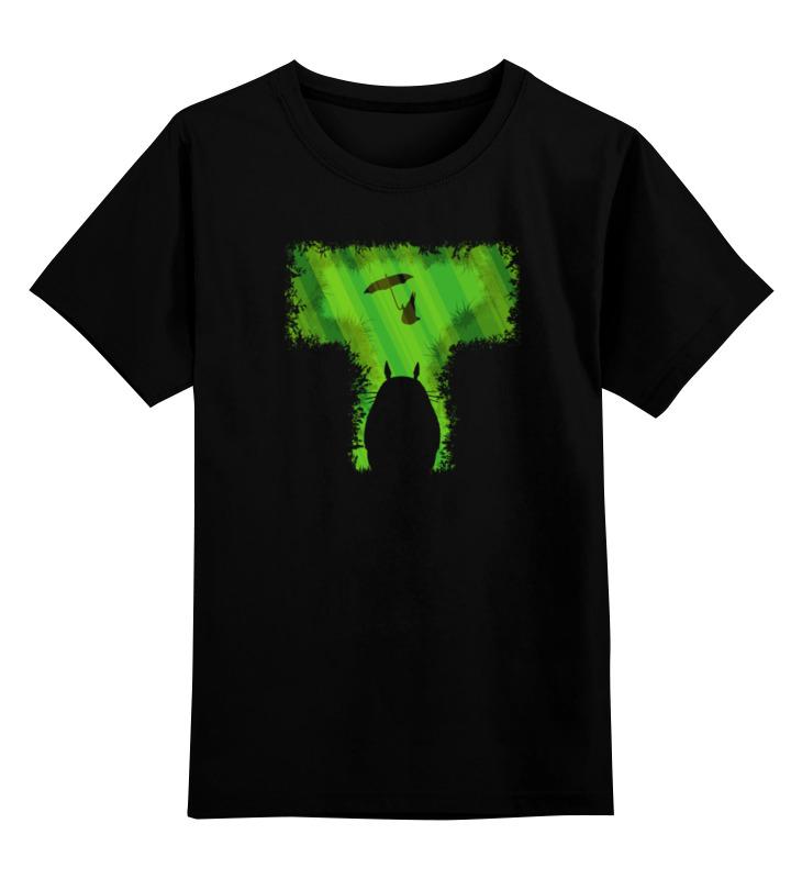 Детская футболка классическая унисекс Printio Т тоторо цена