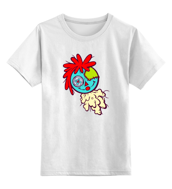 Детская футболка классическая унисекс Printio Кукла вуду кукла монстер хай дракулаура через интернет