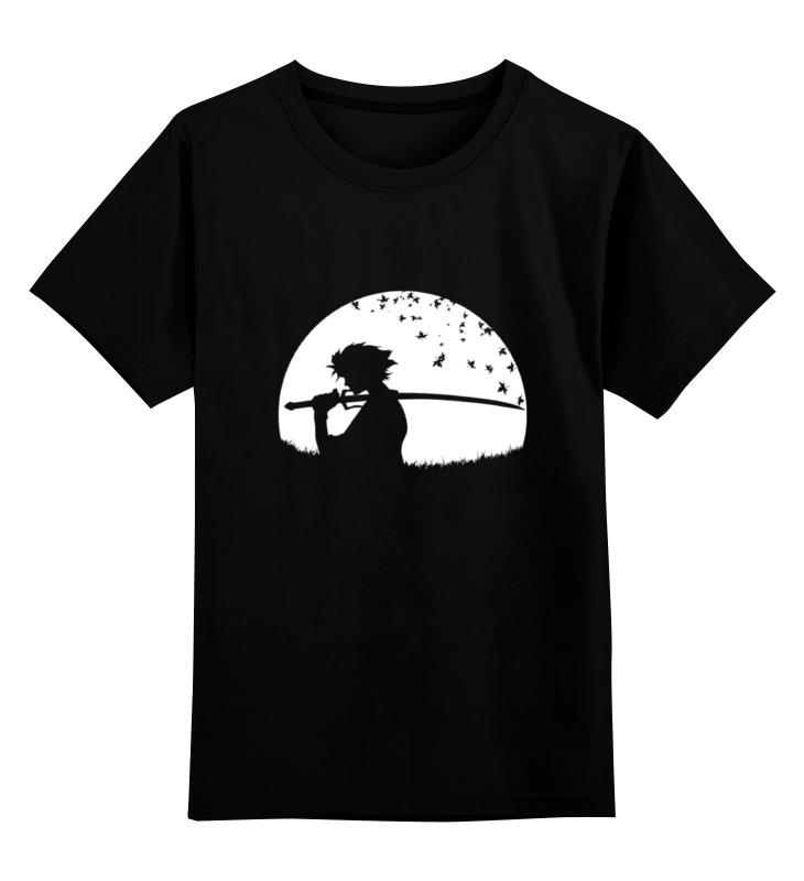 Детская футболка классическая унисекс Printio Japan samurai майка классическая printio japan samurai