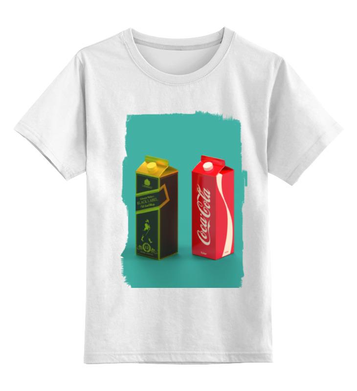 Детская футболка классическая унисекс Printio Whisky cola футболка wearcraft premium printio whisky cola
