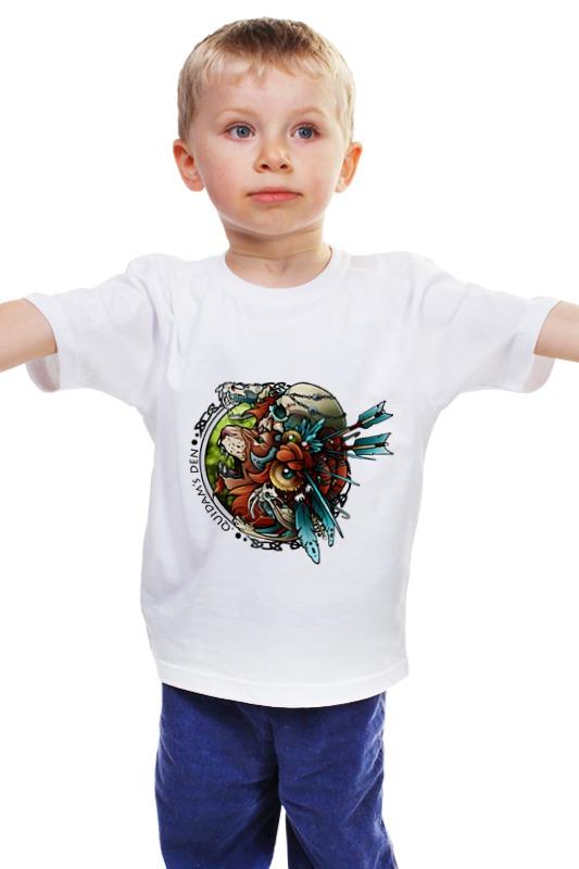 Детская футболка классическая унисекс Printio Лев-воитель детская футболка классическая унисекс printio лев