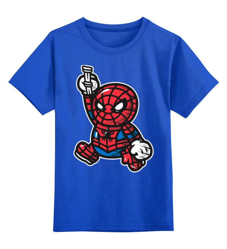 Детская футболка классическая унисекс Printio Человек паук stor кружка детская великий человек паук 325 мл