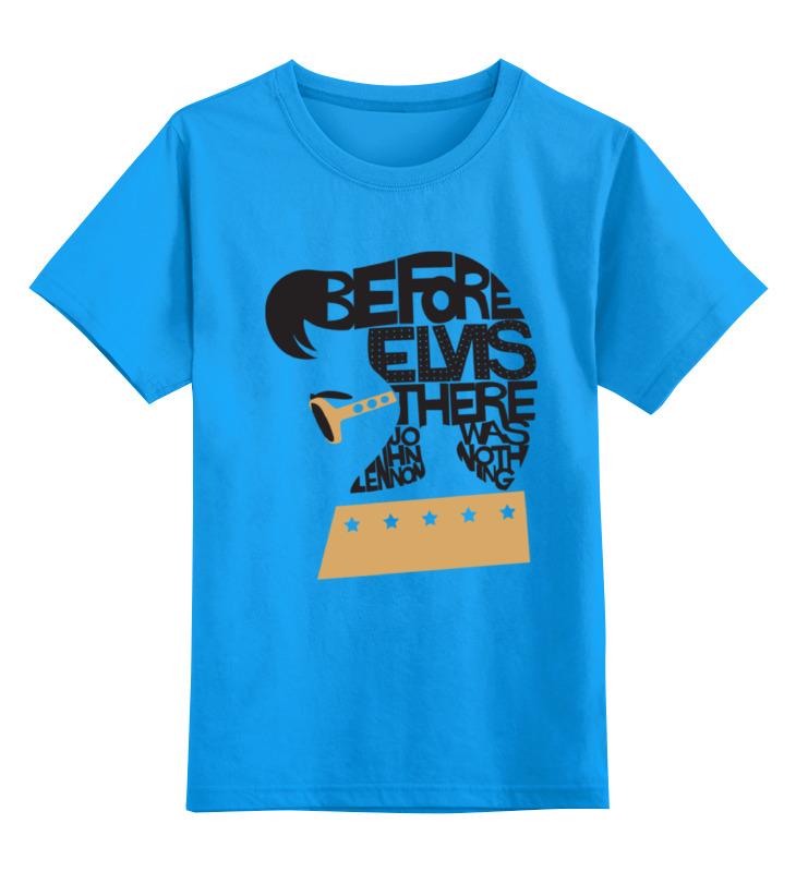 Детская футболка классическая унисекс Printio Элвис пресли (elvis presley) elvis presley elvis presley the sun singles collection
