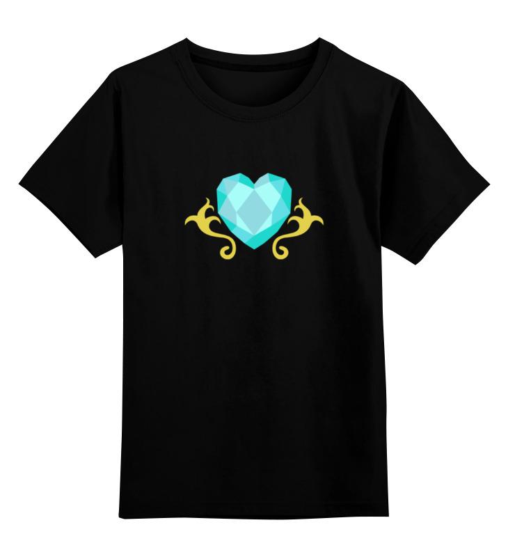 Детская футболка классическая унисекс Printio Сердце (моя маленькая пони) детская футболка классическая унисекс printio ты моя мамочка