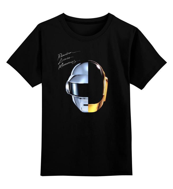 Детская футболка классическая унисекс Printio Daft punk - random access memories футболка стрэйч printio daft punk electoma