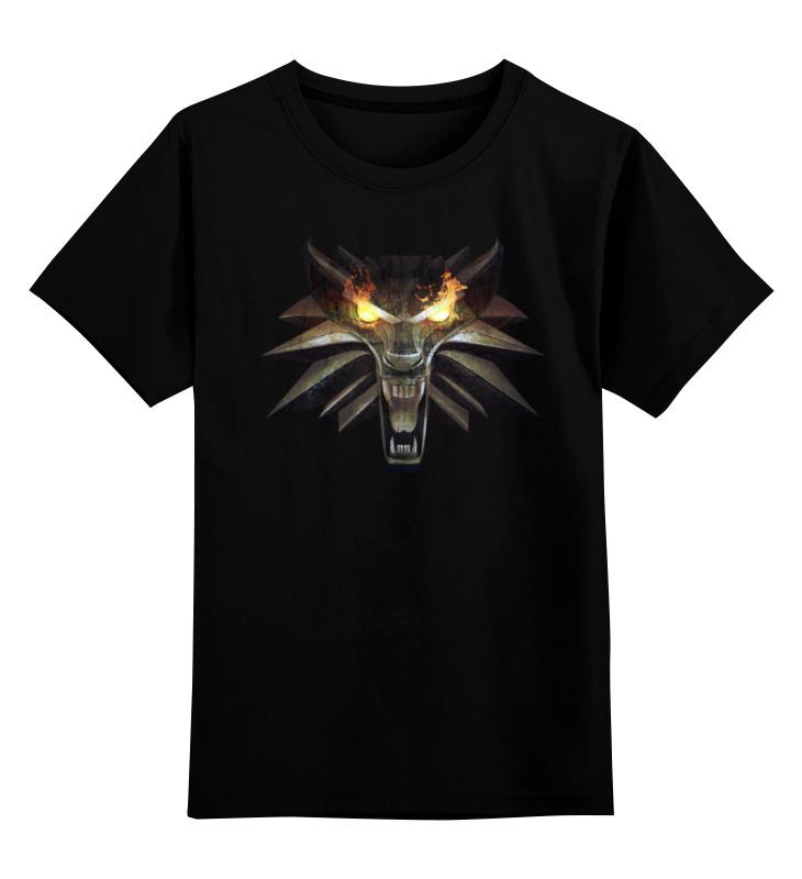 Детская футболка классическая унисекс Printio The witcher