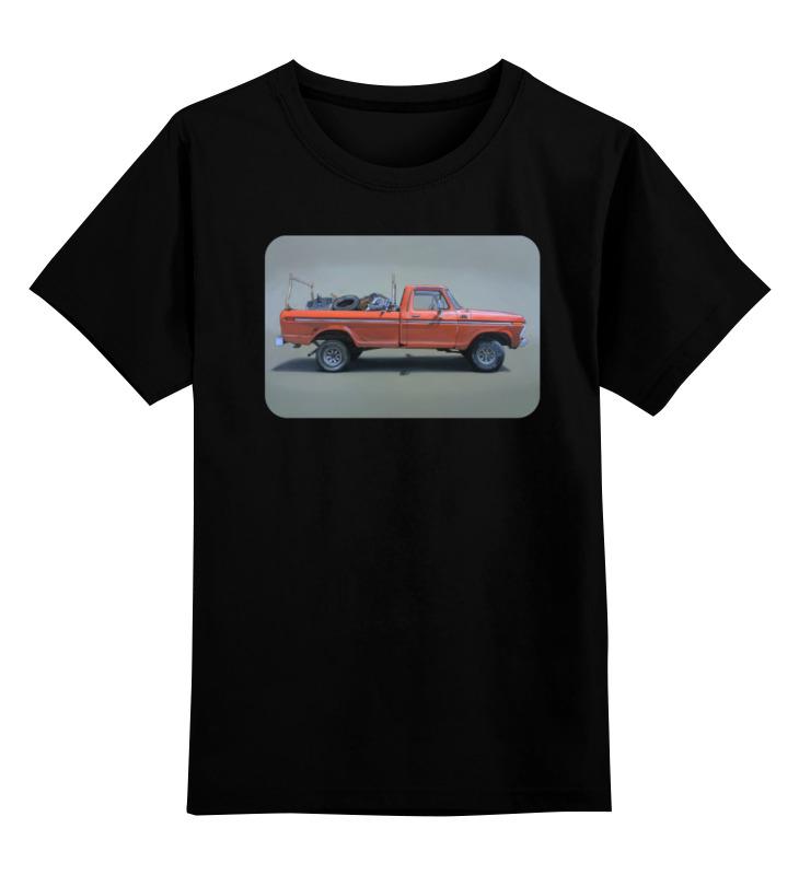 Детская футболка классическая унисекс Printio Car футболка классическая printio bla bla car