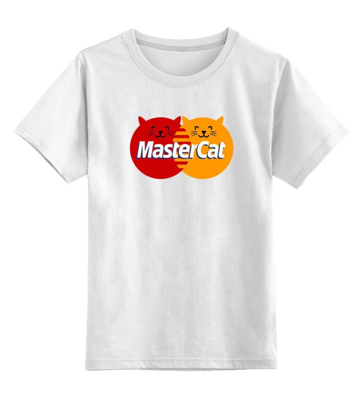 Детская футболка классическая унисекс Printio Master cat