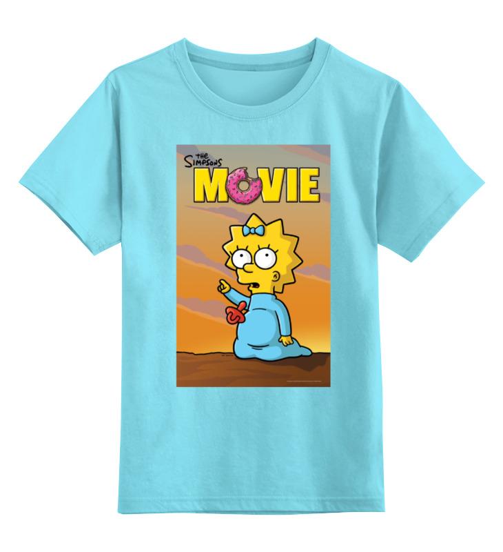 Детская футболка классическая унисекс Printio Simpsons / симпсоны aerofit pldp