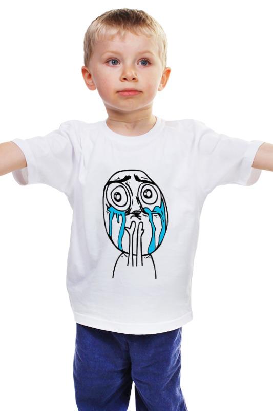 Детская футболка классическая унисекс Printio Мемчик детская футболка классическая унисекс printio мачете