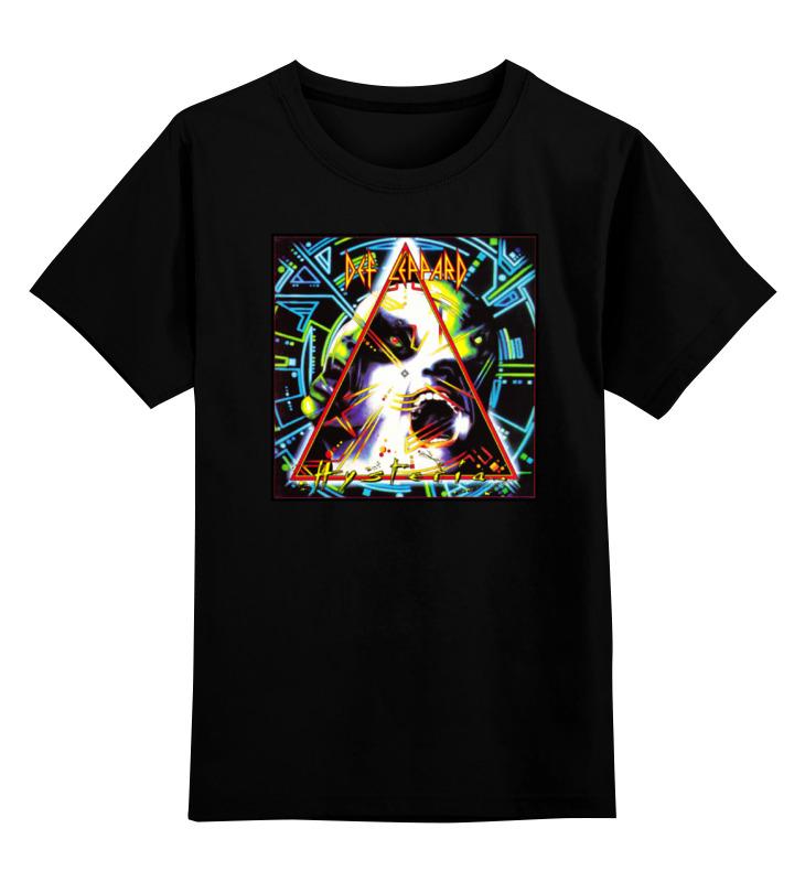Детская футболка классическая унисекс Printio Def leppard band def leppard best of cd