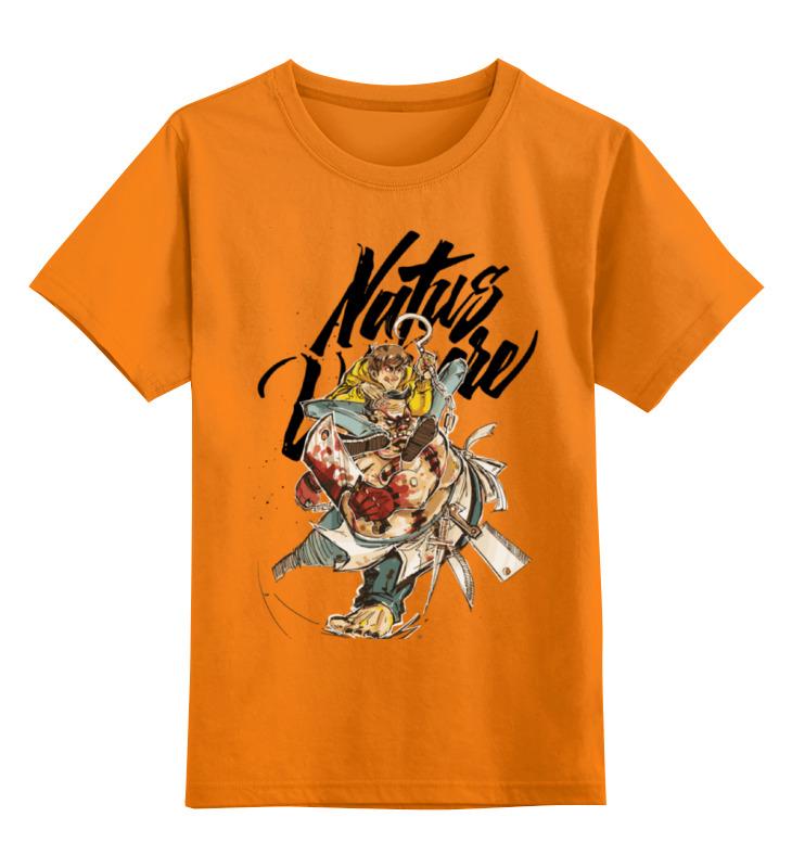 Детская футболка классическая унисекс Printio Natus vincere (na'vi) – illustration yellow
