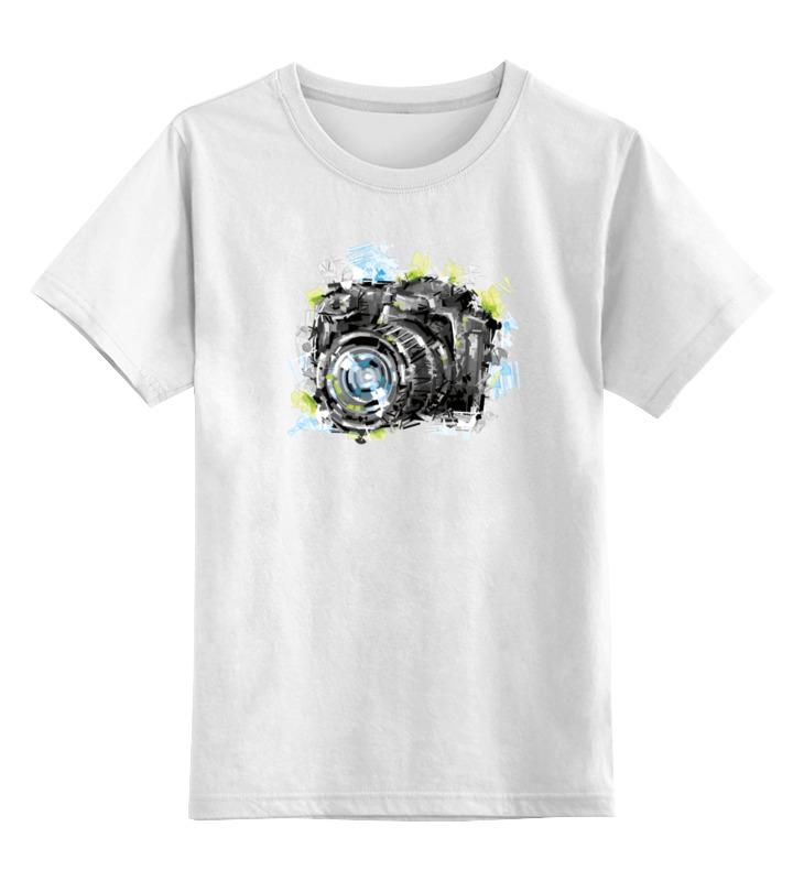 Детская футболка классическая унисекс Printio Фотоаппарат